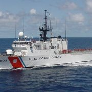 COAST GUARD SHIP CLOSE UP